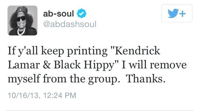 Ab-Soul BH tweet