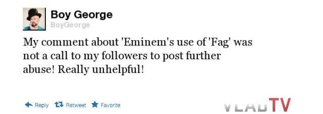 Boy George tweet 7