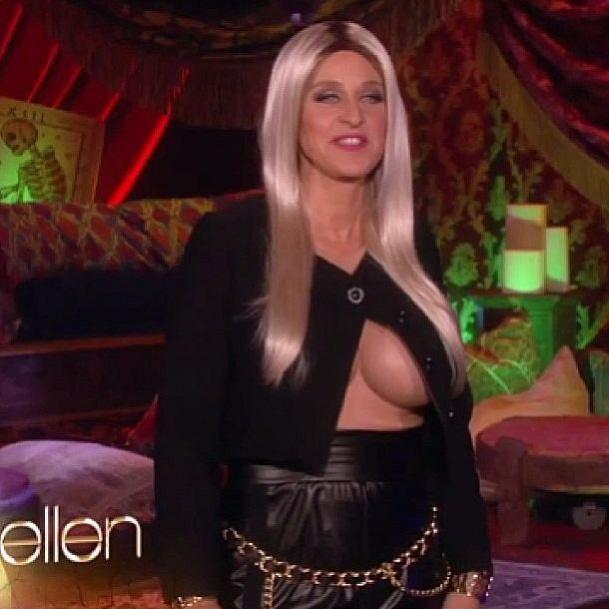 Ellen as Nicki