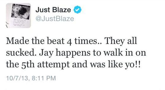 Just Blaze tweet 5
