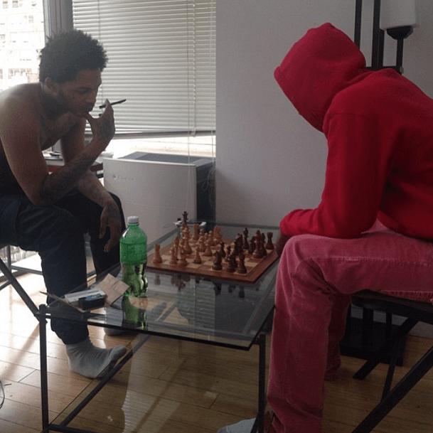 Fredo Santana chess