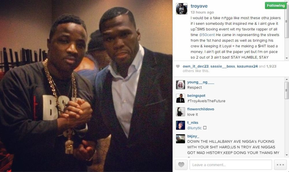 Troy Ave IG