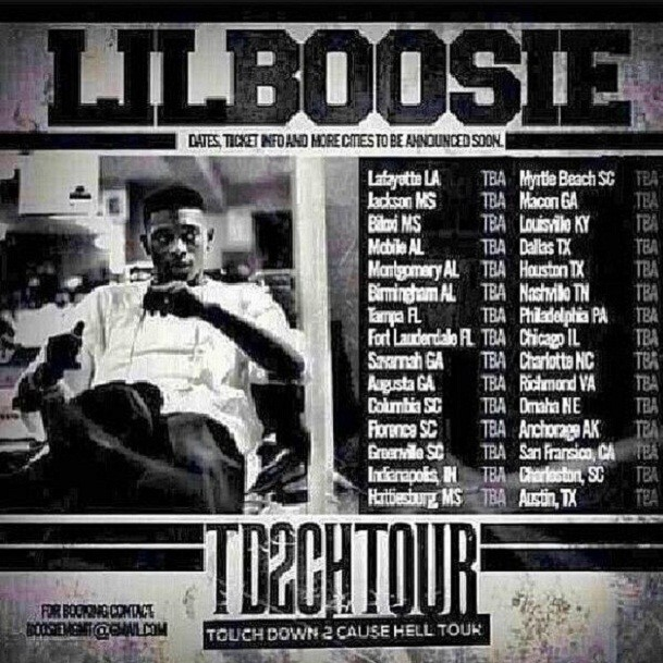 Boosie tour
