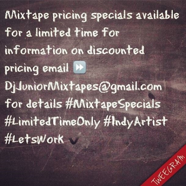 DJ Junior offer
