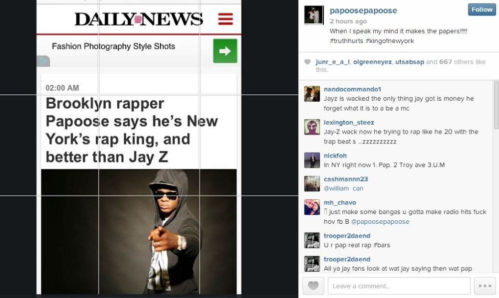 Papoose is king