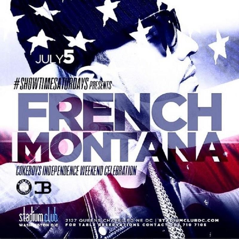 French Montana DC show