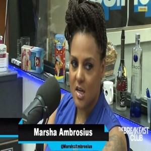 Marsha Ambrosius Breakfast Club