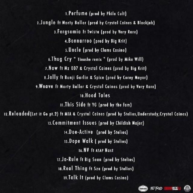 Ferg Forever track listing