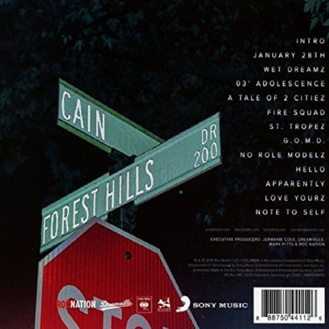 Forest Hills Drive track listing