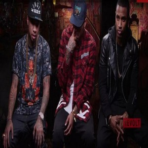 Tyga, Chris Brown, Trey Songz Revolt