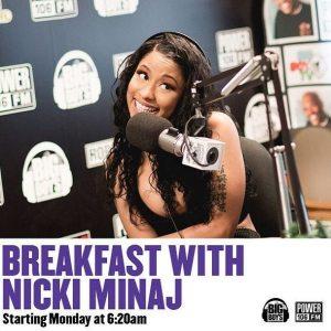 Breakfast With Nicki Minaj