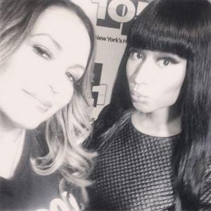 Nicki Minaj Angie Martinez