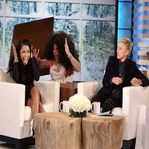 Nicki Minaj The Ellen Show