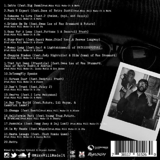 Ransom Mike WiLL track listing