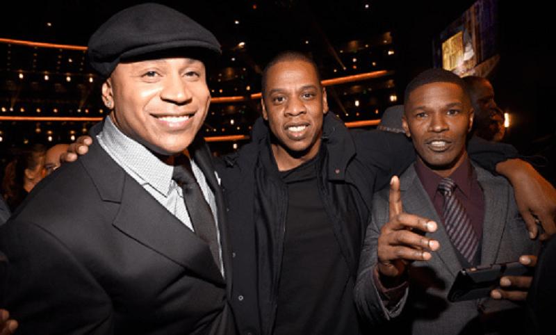 LL Cool J Jay-Z Jamie Foxx