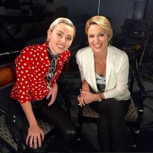 Miley Cyrus Good Morning America