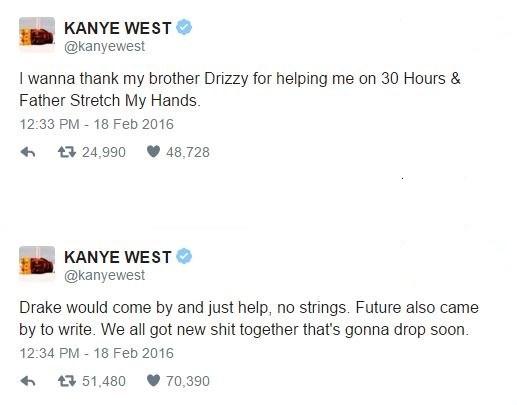 Kanyetweets