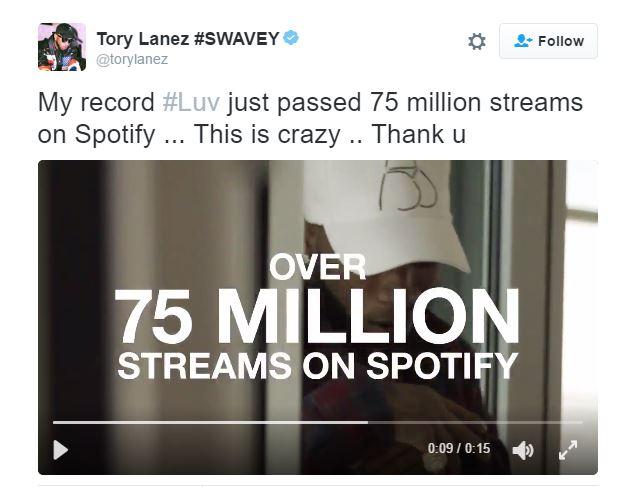 luv75milliontweet