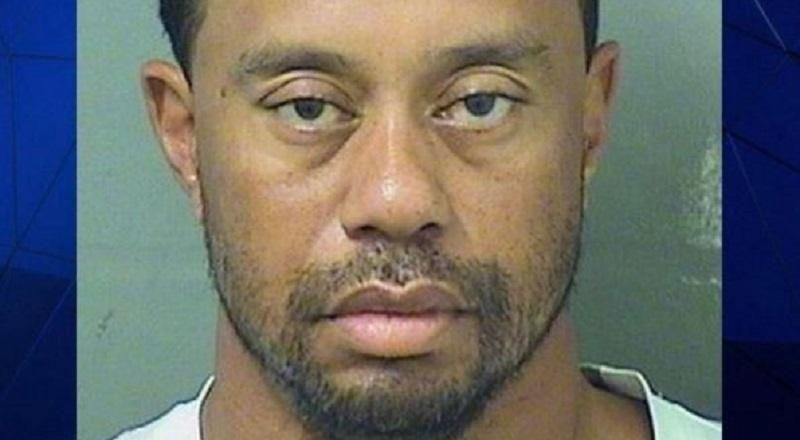 tiger woods arrested and charged with dui in florida   mugshot photo leaks  photo
