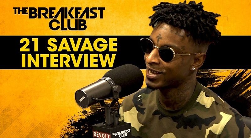 21 Savage opens up about dating Amber Rose, first album success, and much  more with #TheBreakfastClub [VIDEO]