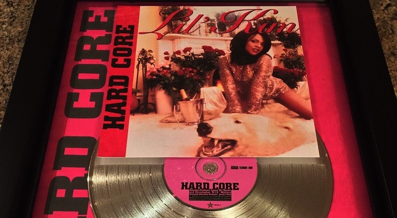 """Lil' Kim debut album, """"Hard Core,"""" is currently number six on the"""