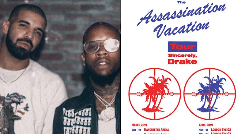 Drake Announces Joint Tour With Former Rival Tory Lanez