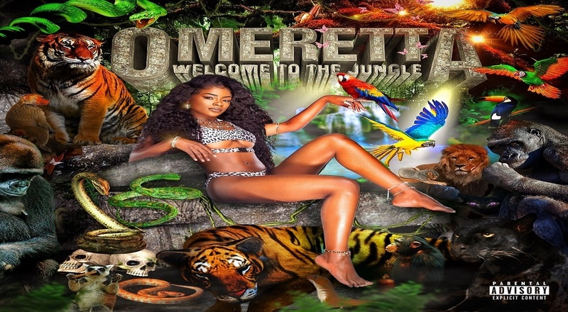 """Album Stream: Omeretta The Great – """"Welcome To The Jungle"""""""