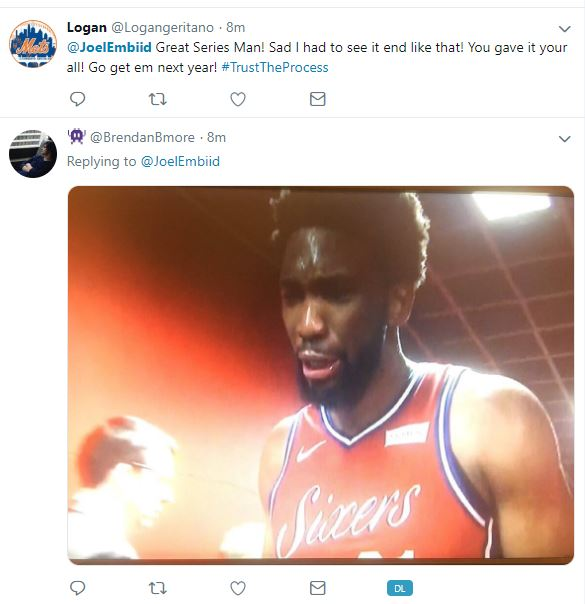 Joel Embiid crying may have just replaced the Crying Jordan meme, as Embiid cried after Sixers lost intense #Game7 to Kawhi Leonard's clutch 3-pointer, as Raptors win series