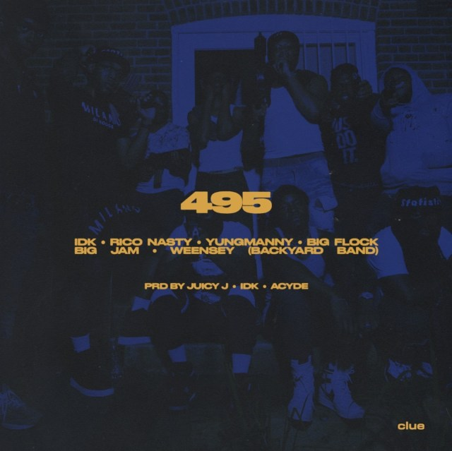 """IDK and YungManny join forces for their new single, """"495,"""" which features Rico Nasty, Big Flock, Big JAM, and Weensey."""