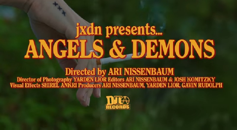 """jxdn releases """"Angels & Demons"""" music video. This is their first release, since signing to Travis Barker's DTA Records."""