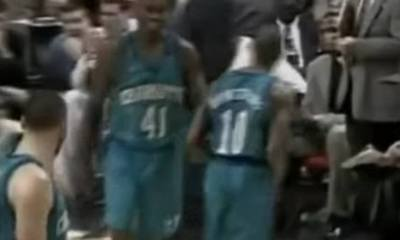 BJ Armstrong, former Chicago Bulls' player, led the Charlotte Hornets to a Game 2 win, in the second round of the NBA Playoffs, defeating Michael Jordan's Bulls in Chicago.