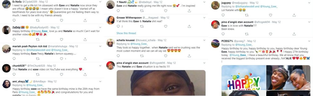 Popular YouTube duo, Young Ezee and Natalie O'Dell, have announced to the world that they are officially in love. Not quite a couple, the two are going to explore dating. If things don't work out, they promise to remain friends, and Natalie is now out.