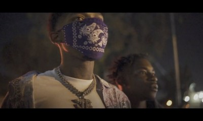 """BlocBoy JB and Tay Keith release the visuals for the """"No Chorus Pt. 12"""" track."""