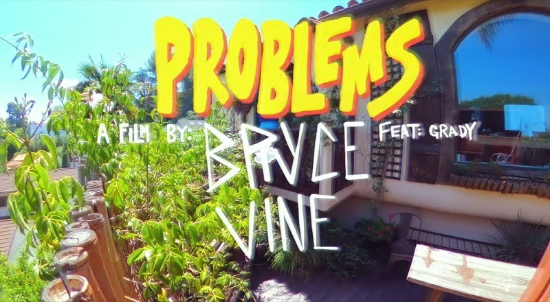 "Bryce Vine releases music video for ""Problems,"" his new single."