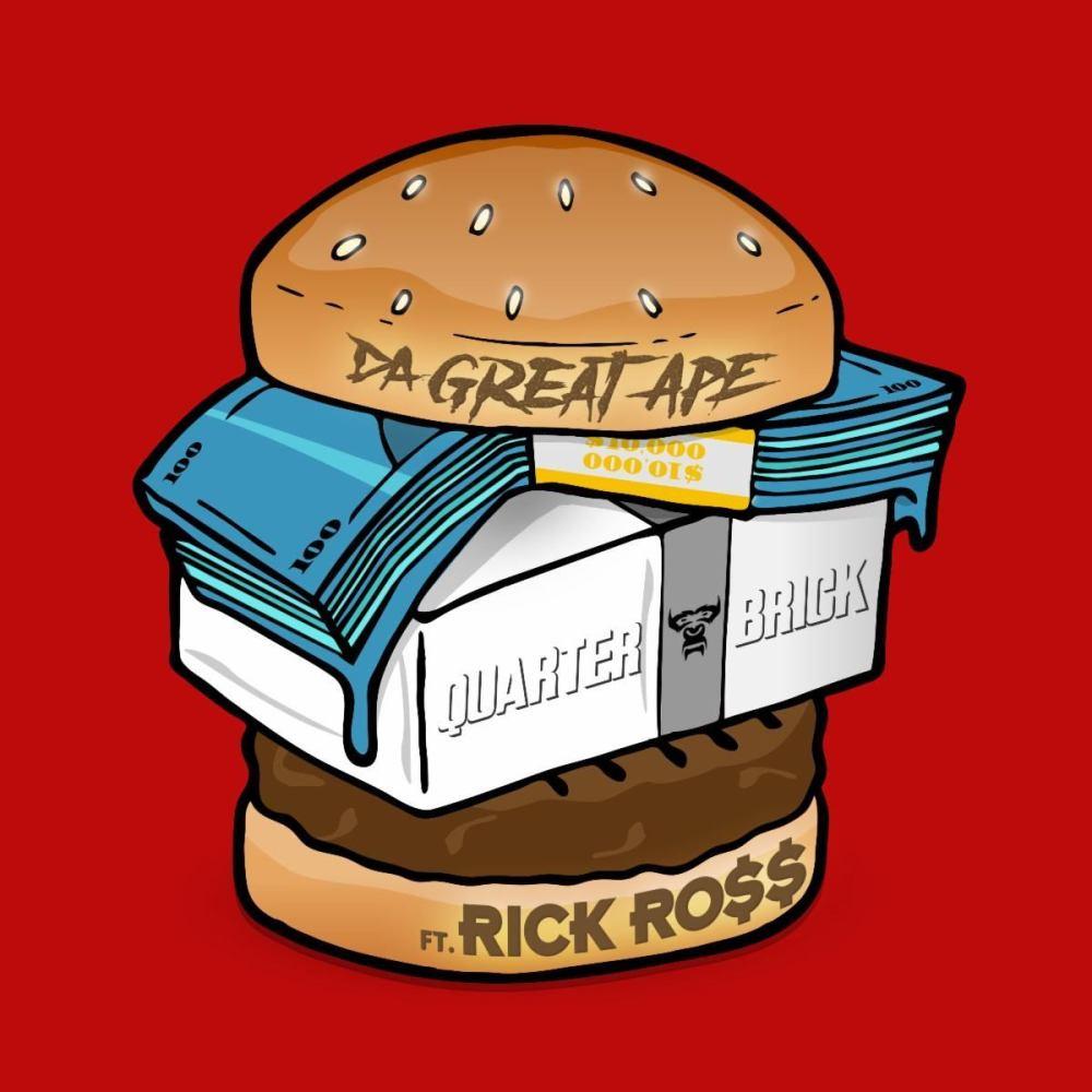"Da Great Ape releases his new single, ""Quarter Brick,"" featuring Rick Ross."