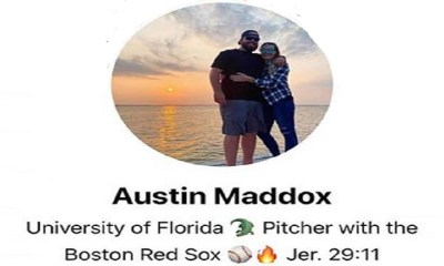 "Austin Maddox, a former pitcher for the Boston Red Sox, has spoken out about the race riots. While making it clear he was not a racist, Austin Maddox made it clear where he stands. Maddox said nobody is oppressed, anymore, that slavery ended in 1865, and black people can't blame people who weren't even born, about what happened in the past, adding that most black people are ""more racist"" than black people."