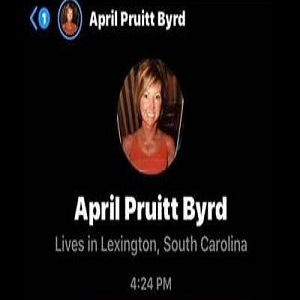 "April Pruitt Byrd is the lead nurse, in Lexington, South Carolina. On Facebook Messenger, she really let it be known what she thinks about black people. Using several monkey emojis, along with saying she has no use for ""n*ggers,"" their only use is caring after white people's grandparents, and that she is a nurse to control the population, and step on their necks if they try to get up."