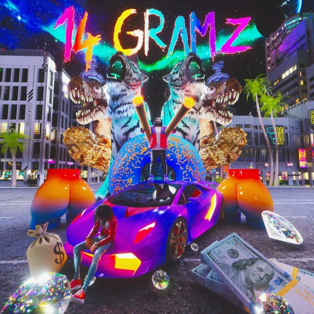 """SKYXXX drops his new single, """"14 Gramz,"""" featuring Valee, off his """"Madhouse"""" EP, which drops on July 31."""