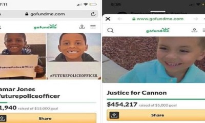Joanne Connolly, a white woman, addressed the Cannon Hinnant murder, on Facebook. Not taking away from his cruel murder, in his own home, Connolly pointed out the murder of another small child, Zamar Jones, a week ago. Both children have GoFundMe accounts set up in their honor, with Jones' launching a week ago, compared two two days for Cannon's. However, Cannon has raised over $450,000, whereas Zamar's has raised just under $2,000, in over a week.