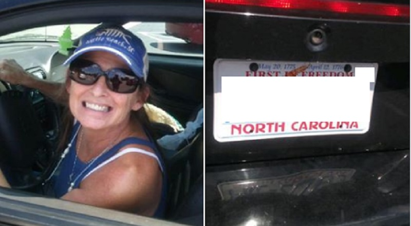 "Daneshia Nichols shared the photo of a white woman and her car. Labeling her a ""Karen,"" Nichols said this woman disrespected her mother. There is no backstory, but Nichols said she called her mother a ""fat, black, n*gga."""