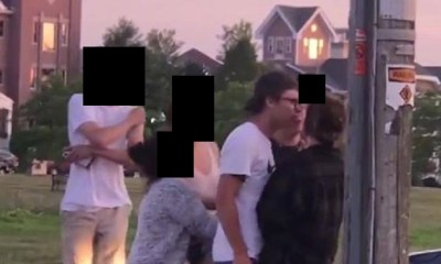 Jeff Martinez, late last week, shared a video of some teenagers fighting. The video showed a teenage boy repeatedly punching a teenage girl. Martinez assumed the teenage boy was Kyle Rittenhouse, the Kenosha shooter, who killed two protesters, and he was confirmed to be right about that, as it was him punching a girl, repeatedly.