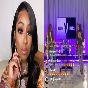 Last night, during her Versuz battle, with Brandy, Monica mentioned Caresha, aka Yung Miami. Over the past two years, Yung Miami has become a household name, and people regularly refer to her as Caresha, but Brandy asked who she was, telling Monica that she's never heard of her. Apparently, this left Caresha feeling some kind of way, as Yung Miami said, on Twitter, that she only knows like two Brandy songs, so that makes them even.