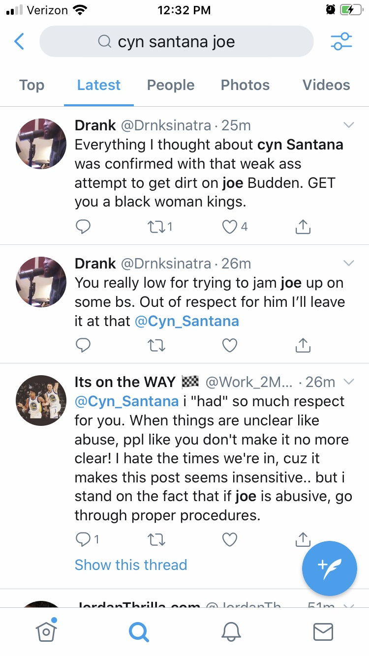 Cyn Santana is the topic of discussion, after leaked audio of her and Joe Budden. The two were discussing their son, arguing, and Cyn Santana asked if he was going to drag her, again. Fans on Twitter have taken aim at Cyn Santana, going in on her, upset, and accusing her of leaking the audio to make Joe Budden look bad.