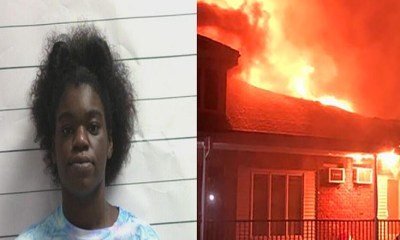 Jazlynn Major, age 25, was a law student, and now she is an arsonist, facing serious prison time. Living in New Orleans, where she was pre-law, at Loyola University, Major was facing an eviction at her apartment complex. Because of this, Jazlynn Major decided to torch the entire apartment building, setting it on fire, burning it to the ground, leaving 26 people without a home, and a dog dead.