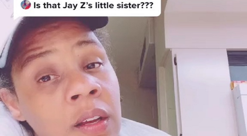On Instagram, a woman is receiving a lot of attention, right now. Many have pointed out that she looks a lot like Jay-Z. Jokingly, people have asked if she is Jay-Z's sister.