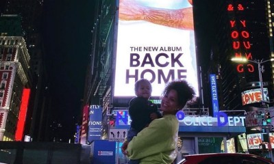 """Trey Songz kept the identity of his son's mother, Noah, hidden for months. At the end of 2019, he confirmed Caro Colon to be his child's mother. Since then, he's sparingly posted her on his IG, including this morning, shouting her out, in his """"Back Home"""" album promo, on IG, and when a fan said he should marry her, Trey replied """"ring talk,"""" leading people to believe he may propose."""