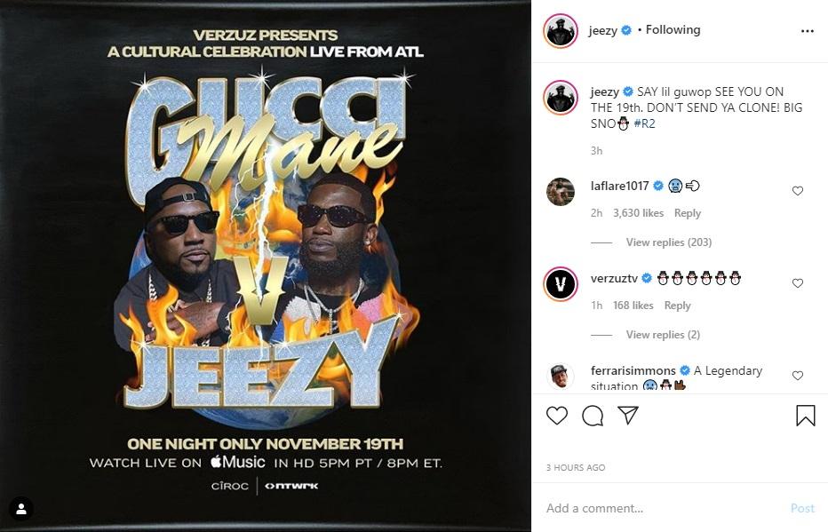 Jeezy Gucci Mane Verzuz clone