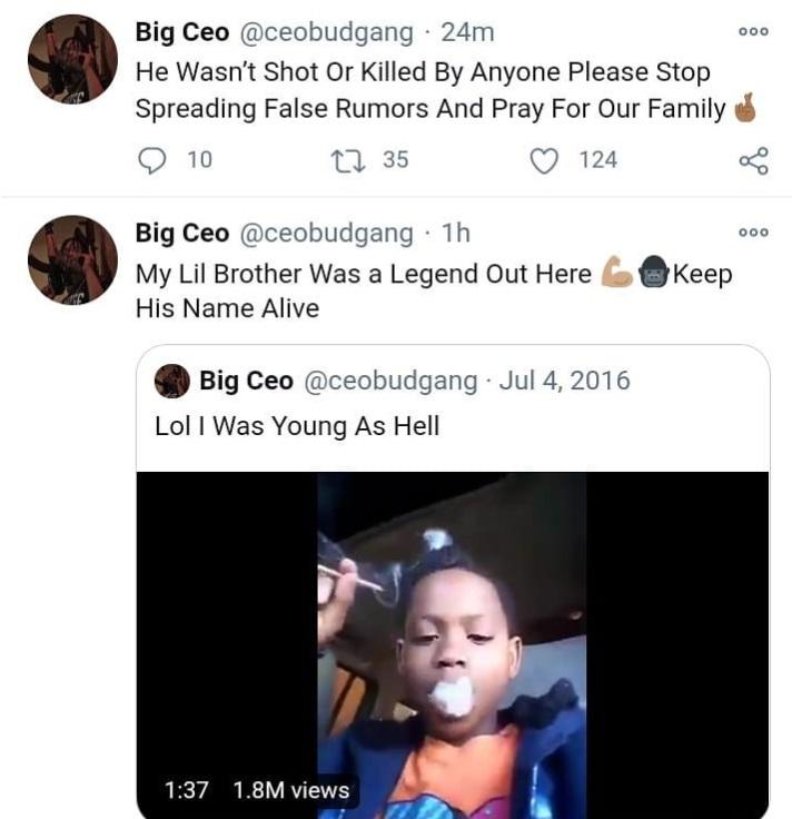 Baby CEO Fredo Santana Memphis dead