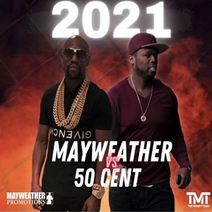 Floyd Mayweather 50 Cent exhibition boxing match