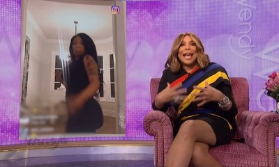 Wendy Williams K. Michelle butt drop response